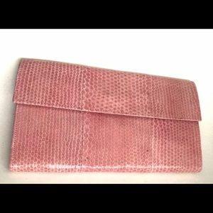 New Jim Thompson Pink iPhone Case Clutch Wallet